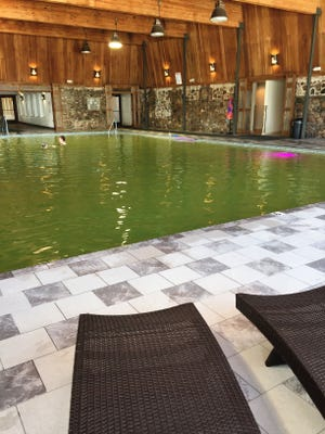 Sleeping Buffalo Hot Springs near Saco has been beautifully redone, with more changes ahead. One of the most recent changes is a new filtration system that has changed the signature green water to a crystal blue.