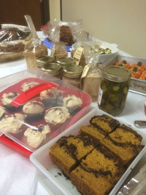 Pumpkin, pork, sweet potatoes and even chai were the fall flavors shared by members of the Bon Appetit Cookbook Club during the November meeting.
