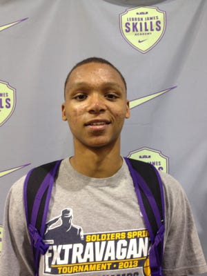 Oakland power forward Ivan Rabb