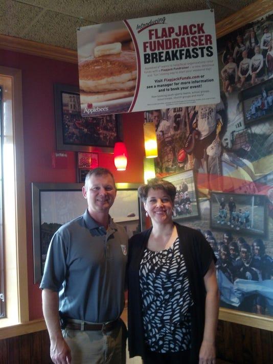 Col and Mrs. Rickey at Applebees.jpg