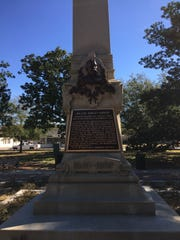 Col. William D. Chipley monument renovations in Plaza