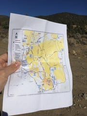 When the Bureau of Land Management issues permits to cut holiday trees they also provide convenient maps.