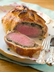 Beef Wellington will be served from 4:30 p.m. May 13 in CV Steak.