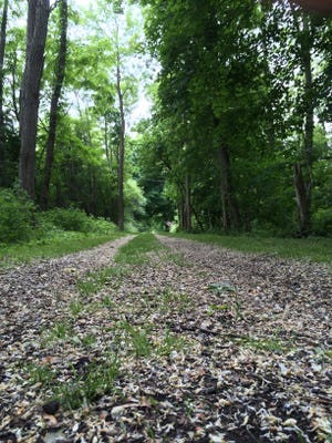 The Genesee Valley Greenway beckons to the adventurous just south of Scottsville.