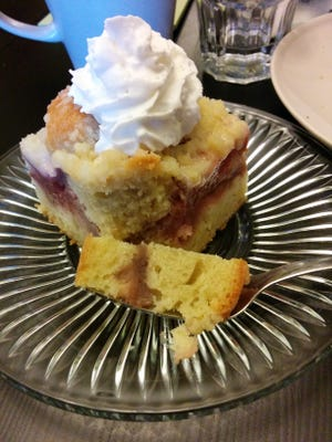 Strawberry coffeecake from Before It's Gone.