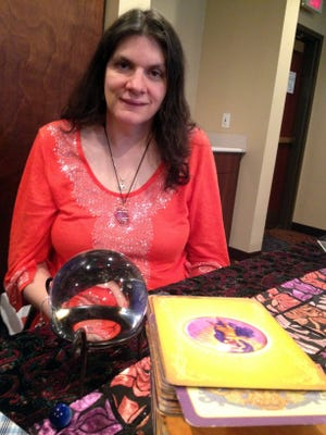Adrianna Lesniak of Attica, Mich., photographed on Oct. 27, 2013, is a psychic and clairvoyant who has felt spirit energies since she was a child.