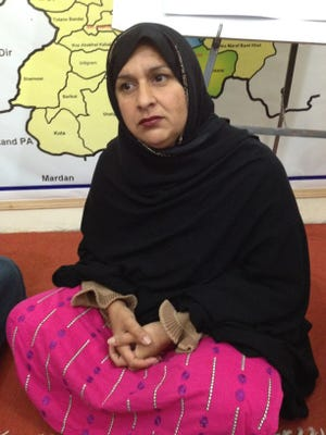Tabassum Adnan of Swat Valley was married at 14 and eventually managed to leave her husband. These days, she helps other women fight for their rights as the head of an all-female jirga, or local council.