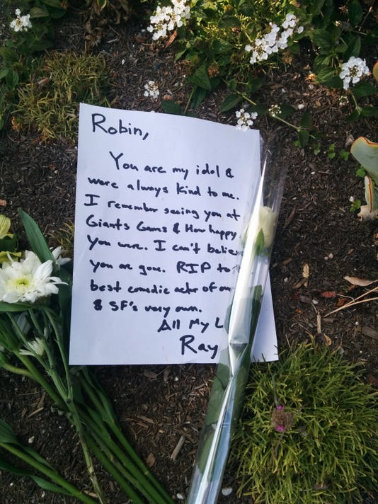 Memorial to Robin WIlliams