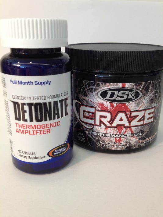 Detonate and Craze bottles