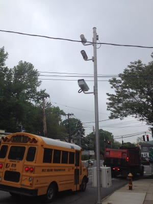 More red light cameras like these on McLean Avenue in Yonkers may be installed throughout Westchester County.