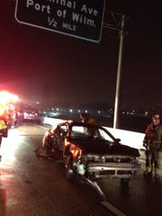 Initial reports suggested the pedestrian was struck on the road,