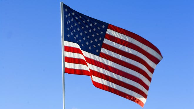 American flag, stock photography from Photo Spin
