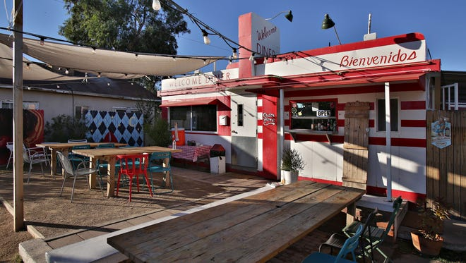 The existing Welcome Diner in Phoenix.
