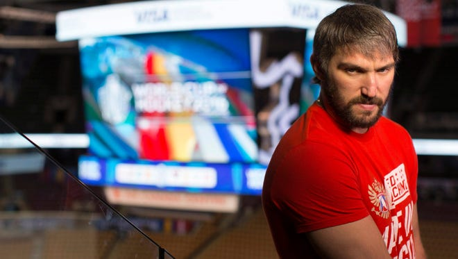 Alex Ovechkin and the Russian team have lots of offensive firepower but are not among the favorites in the World Cup.