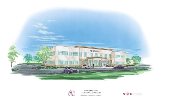 Rendering of the completed project.