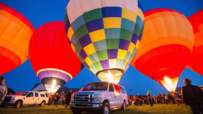 Franklin Hot Air Balloon Festival features live music, a kids' zone and a balloon glow at dusk by the Westhaven community lake.