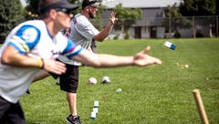 Eau Claire is the capital of Kubb, a lawn sport that's as much a party as a competition