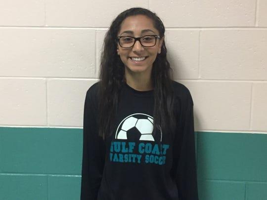 Monica Makram, Gulf Coast soccer
