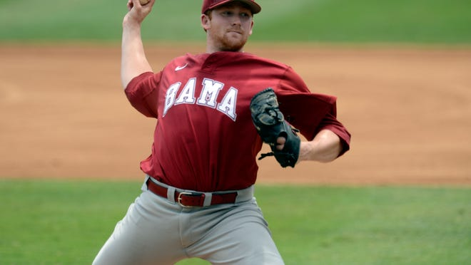 Alabama Crimson Tide starting pitcher Spencer Turnbull was drafted in the second round by Detroit on Thursday.