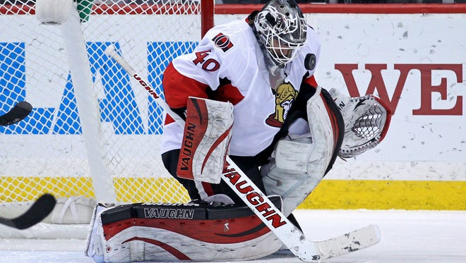 Ottawa Senators goalie Robin Lehner will average $2.275 million over the next three seasons.