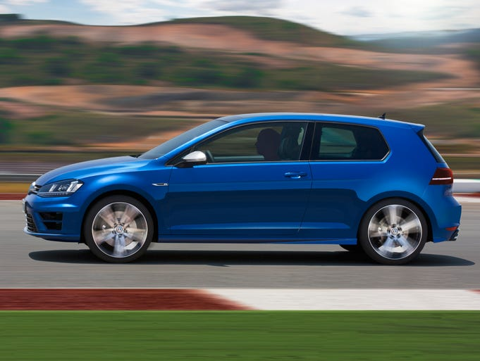 Volkswagen's Golf R, the hot-rod version of the Golf hatchback, makes its debut at the Frankfurt show next week. Based on the new-generation Golf, on sale elsewhere but not yet in the U.S., the R will go to most markets this year, but not come to the U.S. until late next year or2015.<p></p>