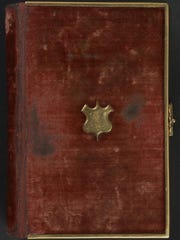 Photo of the Lincoln Bible.