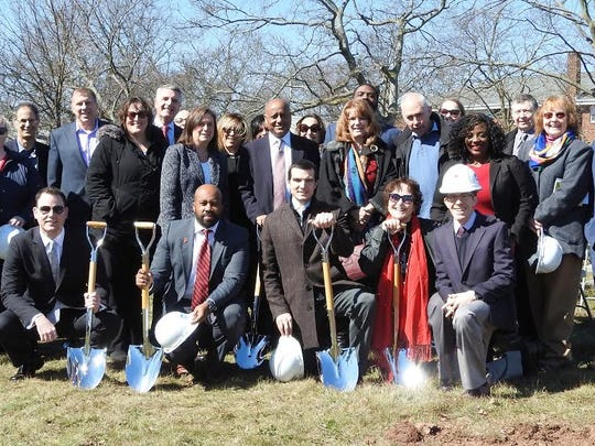 A groundbreaking was held Wednesday for a new housing development in New Brunswick that will house homeless Middlesex County residents.
