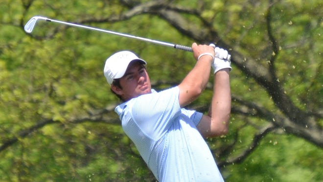 Fordham Prep alum Cameron Young became the first amateur to win the Metropolitan Golf Association's New York State Open Championship on Thursday.