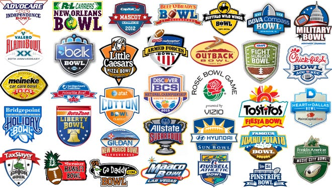 Bowl games logos