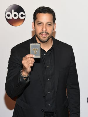 David Blaine attends the ABC 2016 Network Upfront Presentation at David Geffen Hall on Tuesday, May 17, 2016, in New York. (Photo by Evan Agostini/Invision/AP)