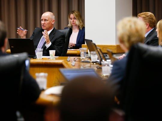 City Utilities General Manager Scott Miller address