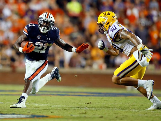 NCAA Football: Louisiana State at Auburn