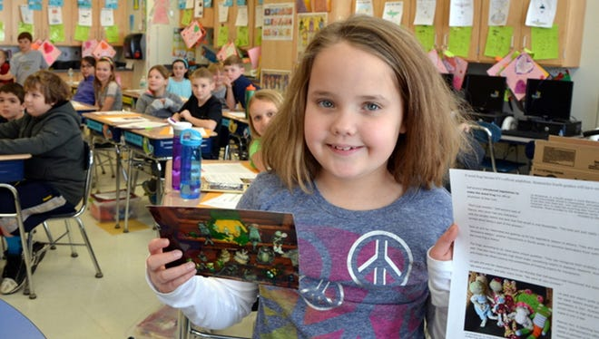 Lili Winkelman is hoping to make the wood frog a state symbol of New York.