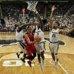 Michigan State basketball unleashes shot-blocking as key defensive weapon
