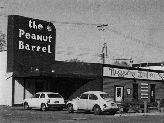 The Peanut Barrel in an undated photo.