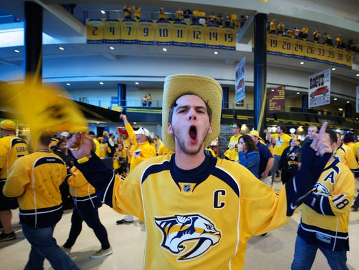Predators beat Blues, head to Western Conference finals