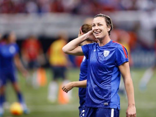 Soccer star Abby Wambach dating Naples author Glennon Doyle Melton