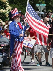 Scenes from the Sheboygan Fourth of July parade Tuesday July 4, 2017 in Sheboygan, Wis.