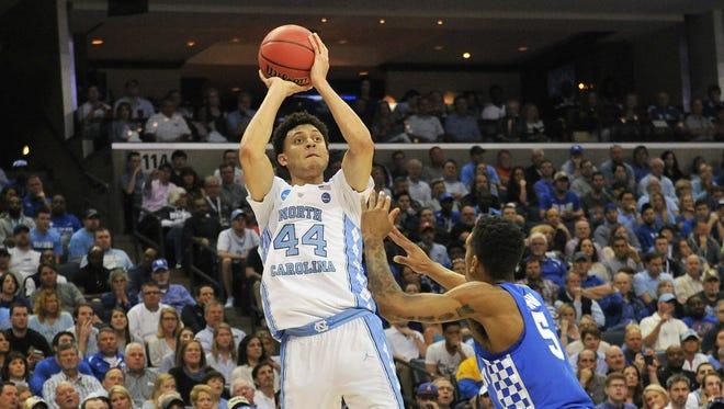 North Carolina Tar Heels forward Justin Jackson.