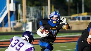 Enka graduate Drake Wells played his first season of college football for Bethany (Ks.).