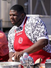Contestant Gerron Hurt on MasterChef
