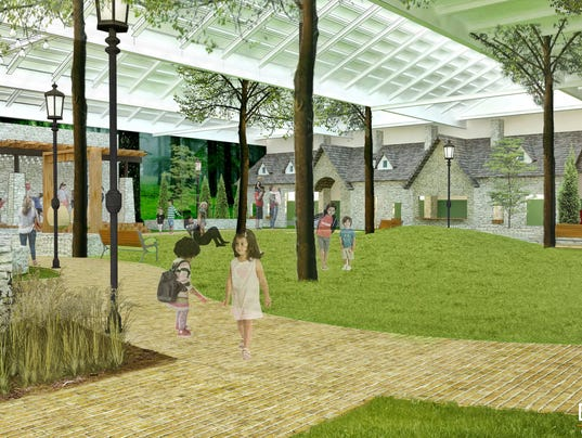 Proposed Village Park, Wauwatosa.