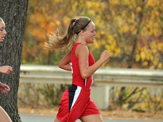Bucyrus Senior Shaylee Campbell competed in the Division