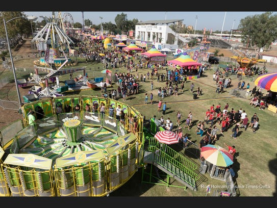 The 2016 Tulare County Fair opened on Wednesday, September