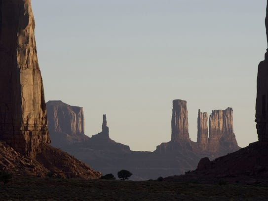 Monument Valley Navajo Tribal Park inspiró muchas películas.