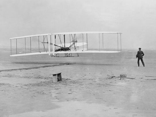 While the Wright Brothers were opening up the skies,