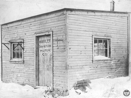 The Davidson family's 10' by 15' backyard shed.