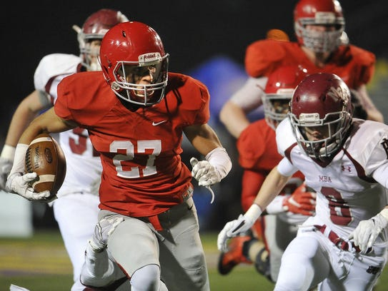 Brentwood Academy's Camron Johnson is No. 2 on this