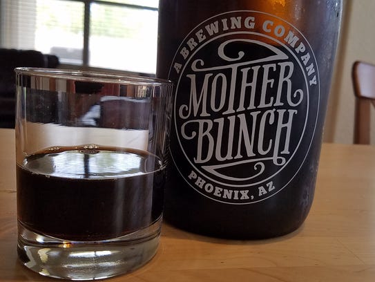BEER: Oatmeal Chocolate Milk Stout, Mother Bunch Brewing.