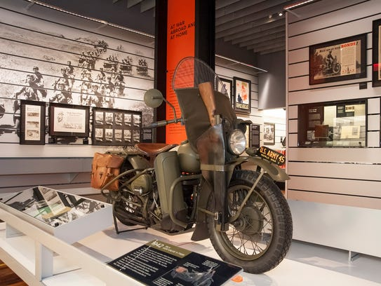 By the end of the war, nearly 90,000 Harley-Davidson